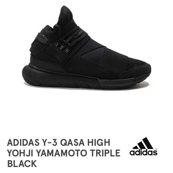 4a78fd8c4 adidas Shoes - New! Adidas Y-3 Qasa Yohji Yamamoto Triple Black